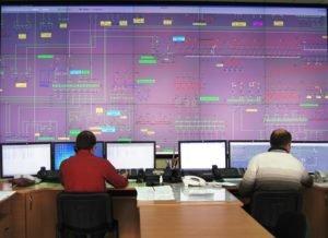 Диспетчерский щит высоковольтных сетей ДТЭК Днепрооблэнерго