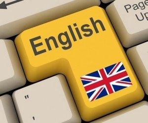 англійську