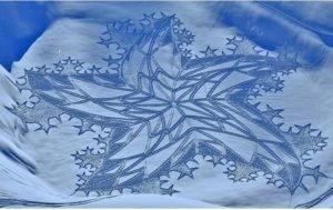 картины на снегу 2