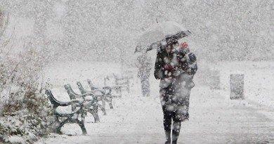 Коли у Дніпрі випаде перший сніг