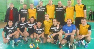 Фіналісти волейбольного турніру спартакіади Здоров'я-2016