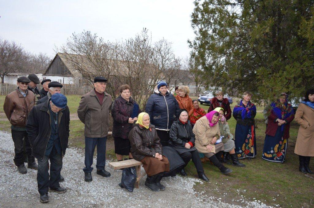 водогін в селі Любимівка