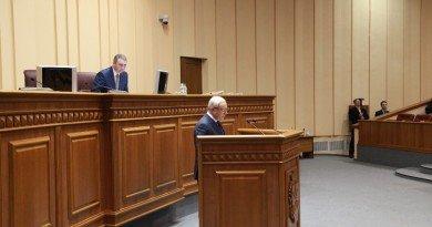 Юрий Вилкул на сессии Криворожского горсовета