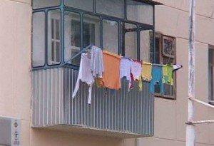 балконах