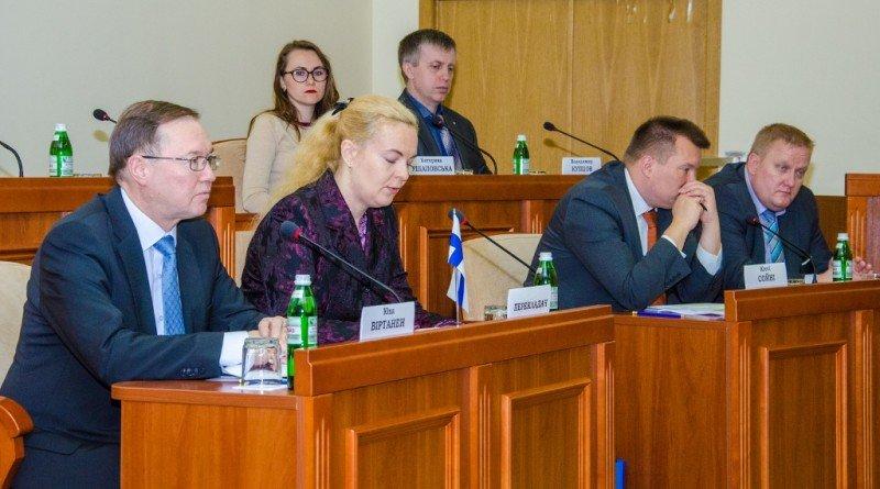 встреча Резниченко с Послом Финляндии