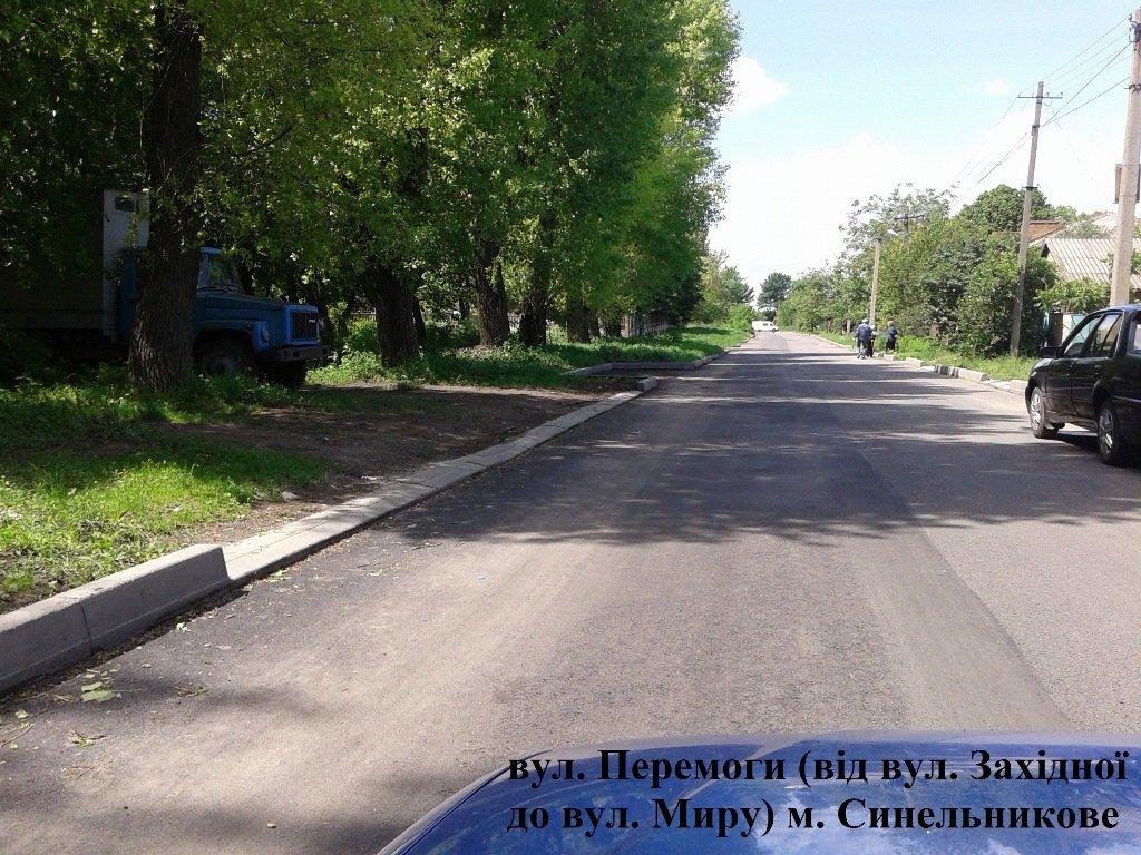 дороги Синельникове