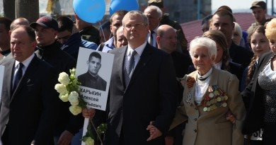 Александр Вилкул и ветераны