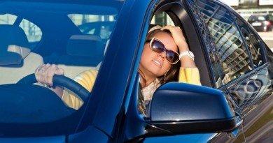 Жара в авто
