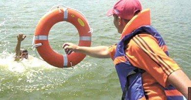 помощь на воде