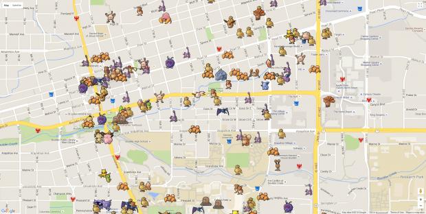 карта покемонов