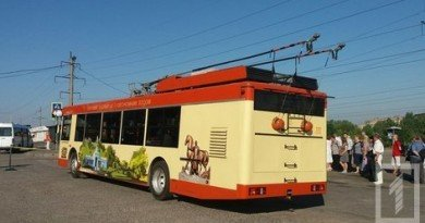 гибридный троллейбус