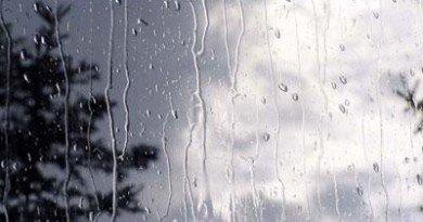 дождь с грозой