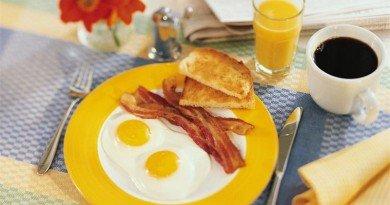 завтракаете