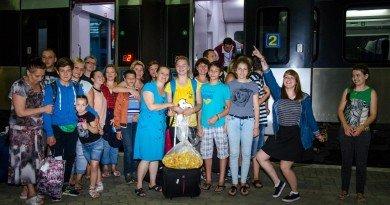 дети на обучение в Вильнюс