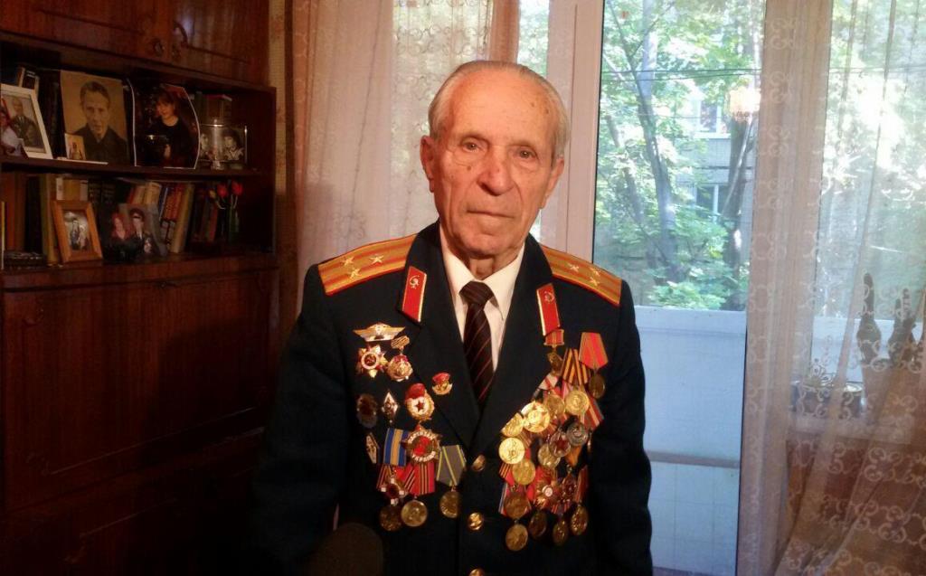 Участник партизанского движения Яворский