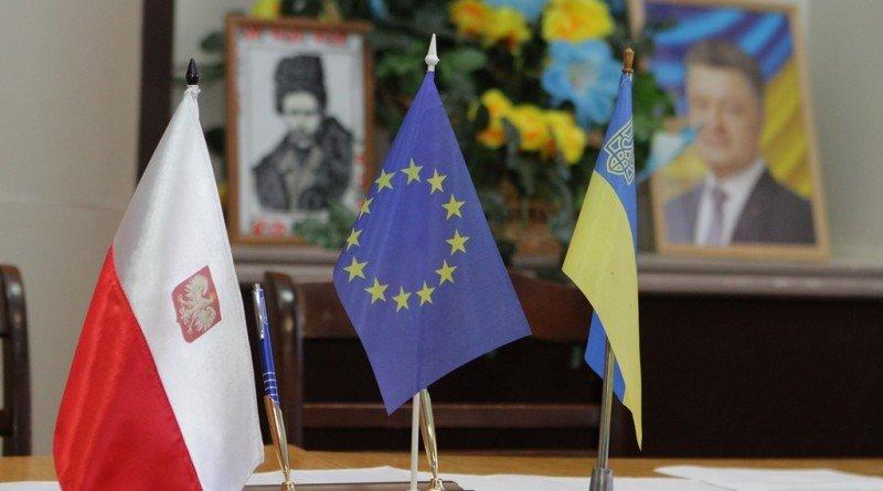 флаги_Польша_Украина