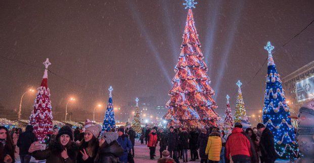 елка в Харькове