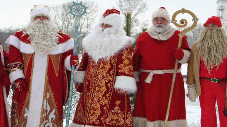 Дед мороз в казахстане как зовут