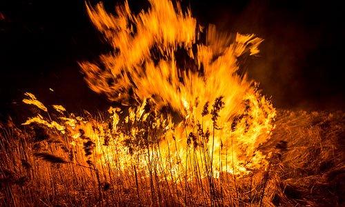 пожар