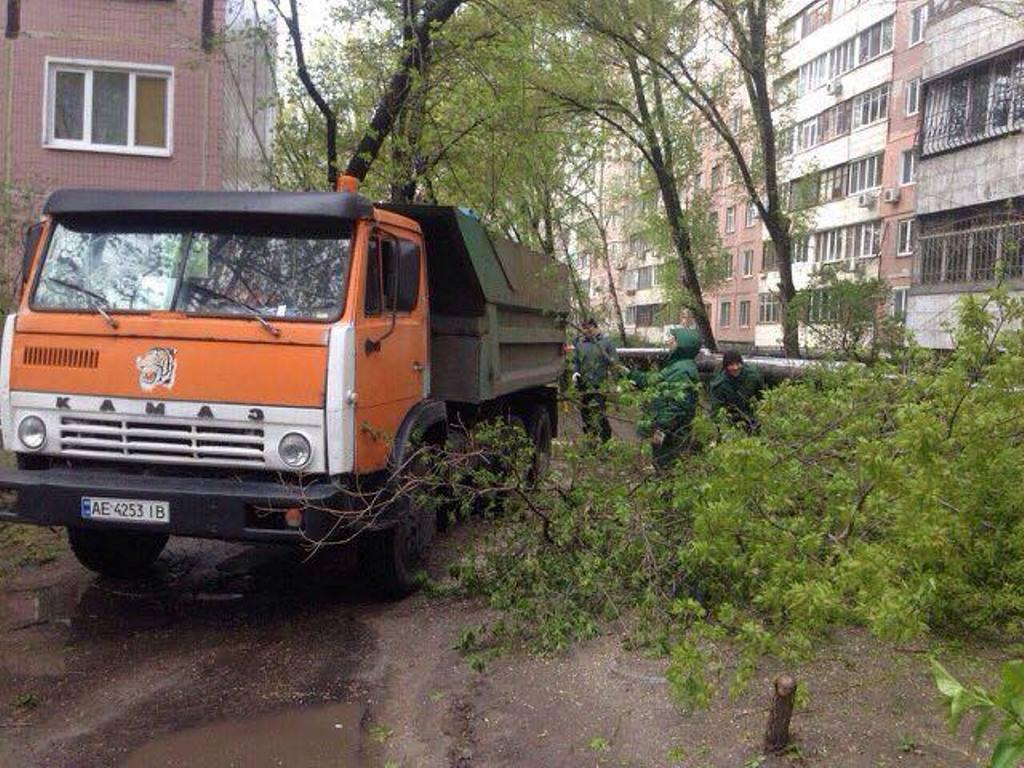 Дніпро_наслідки негоди