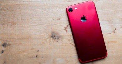 красный Iphone7