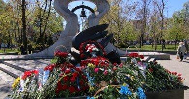 памятник Чернобыльский звон