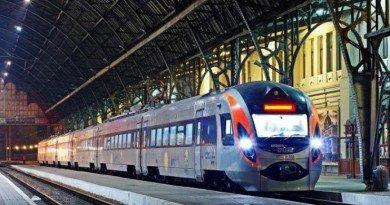 поезд на Польшу