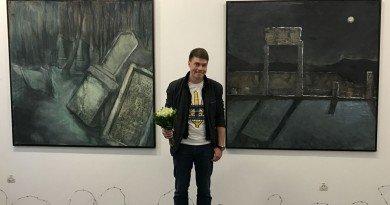 Дніпровський художник Сергій Бурбело