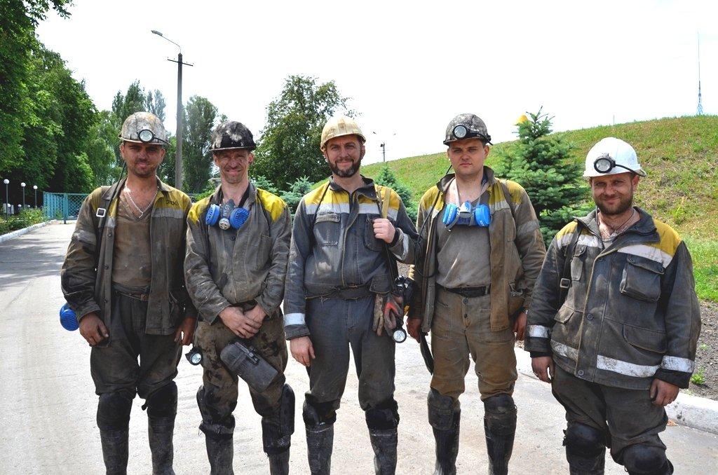 Руководители участка по добыче угля №6