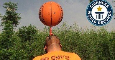 мировой рекорд_баскетбольный мяч