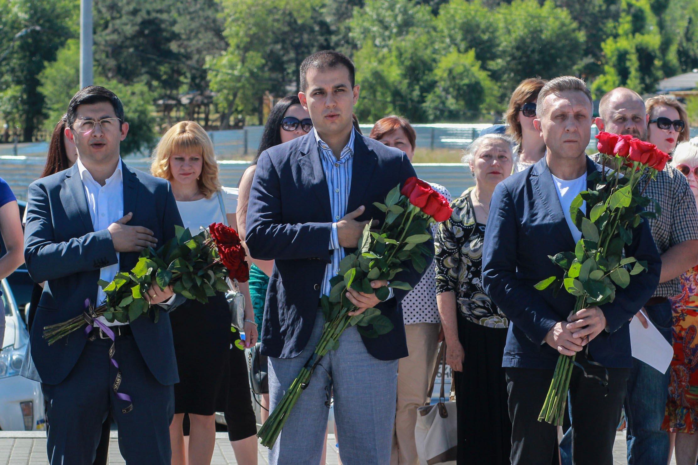 Пам'ять жертв Другої світової війни вшанували на Дніпропетровщині_1