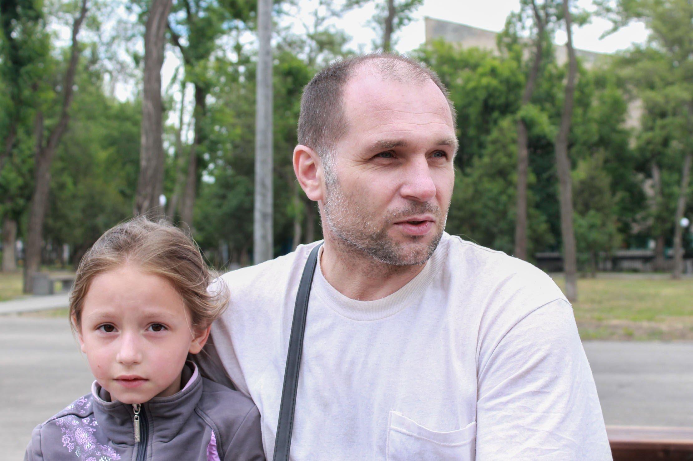 Частий гість парку – Євген Полковников – приходить відпочивати з онуками та племінниками