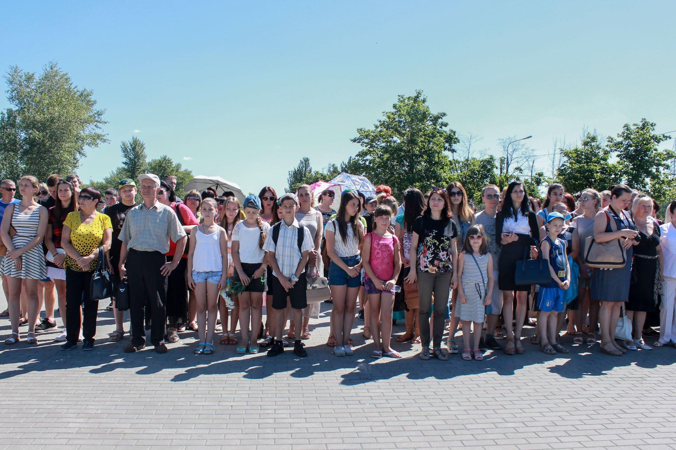 Пам'ять жертв Другої світової війни вшанували на Дніпропетровщині_5