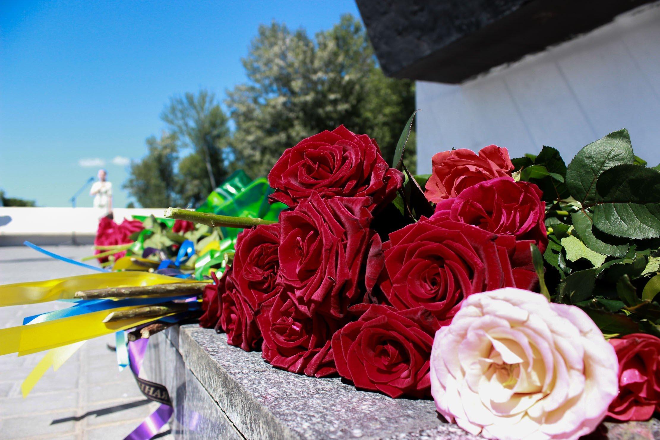 Пам'ять жертв Другої світової війни вшанували на Дніпропетровщині_8