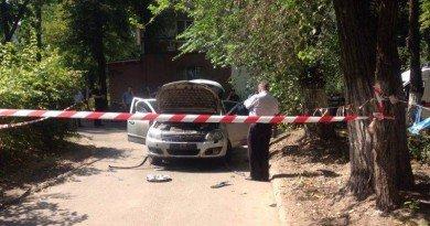Днепр_взрыв автомобиля