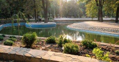 парк в Каменском