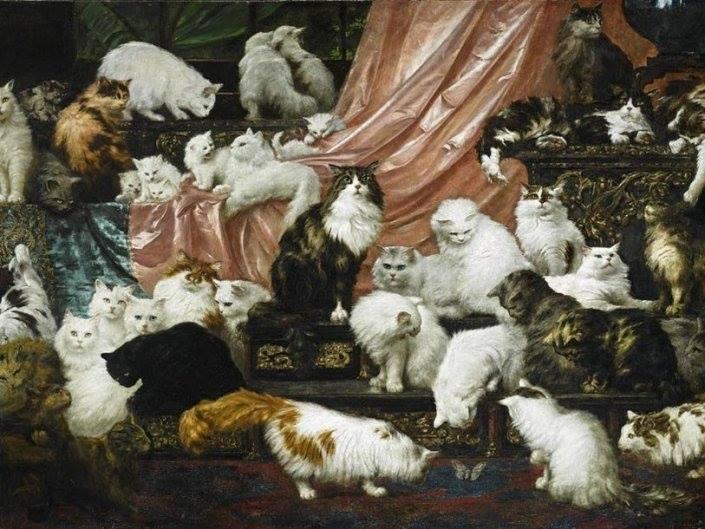 величайшая картина про котов