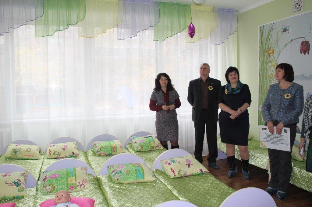 Новая спальня для малышей детского сада_Колокольчик
