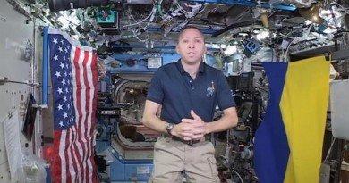 американський астронавт
