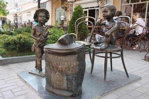 памятник сладкоежкам