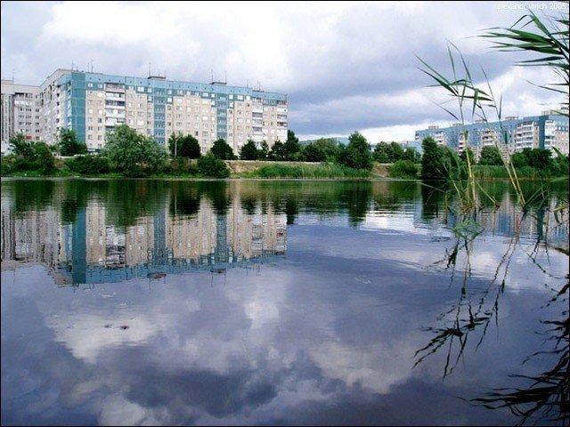 Жилмассив Фрунзенский. Фото 2005 г.