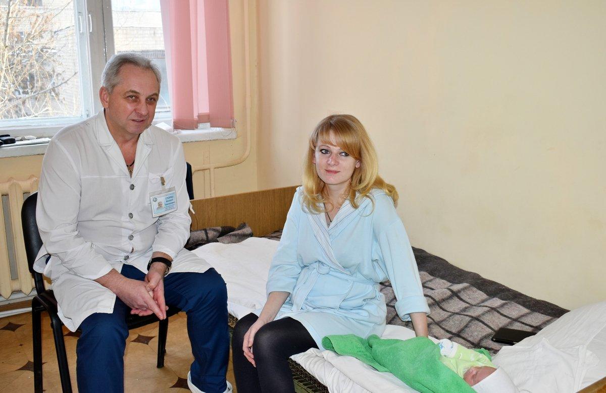 заступник головного лікаря з акушерства і гінекології Валерій СПОРИШ