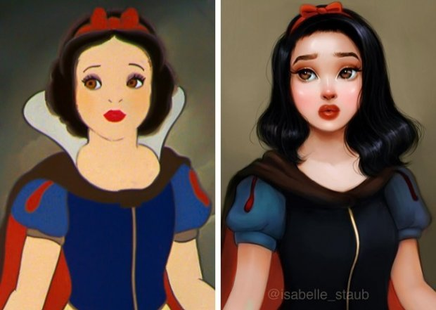 красавицы Disney
