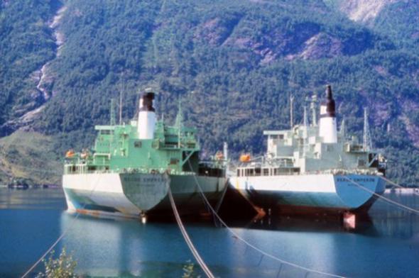 самеы большие корабли
