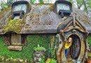сказочный домик хоббитов