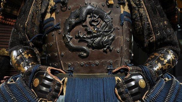 саркофаг самурая