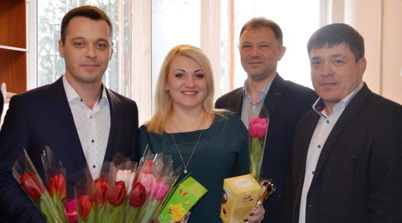 ДТЭК ЦОФ Павлоградская поздравление женщин