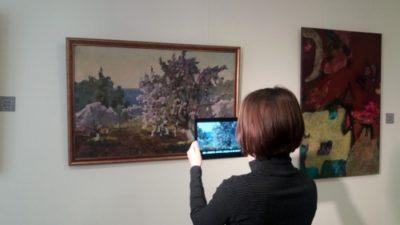 У Дніпрі «оживили» картини