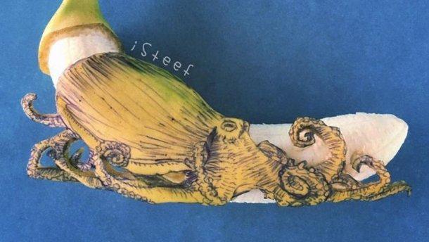 художник_бананы