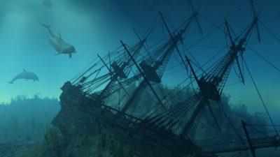 В Австралии нашли останки неизвестного корабля